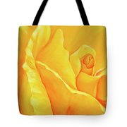 Yellow Rose Detail Tote Bag