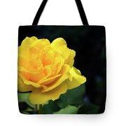 Yellow Rose - Full Bloom Tote Bag