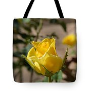 Yellow Rose With Ants Tote Bag