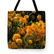 Yellow Rules The Field Tote Bag