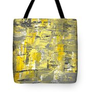 Yellow Sadness Tote Bag