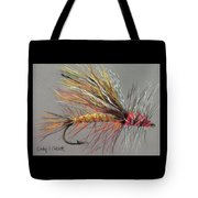 Yellow Sally Stonefly Tote Bag