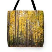 Yellow Saplings Tote Bag