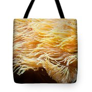 Yellow Sea Anemones Macro Tote Bag