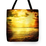 Yellow Sea Tote Bag