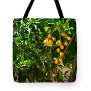 Yellow Seeds Tote Bag