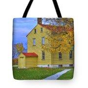 Yellow Shaker House 2 Tote Bag