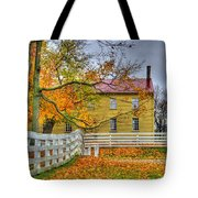 Yellow Shaker House 4 Tote Bag