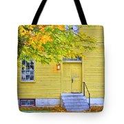 Yellow Shaker House Tote Bag