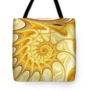 Yellow Shell Tote Bag
