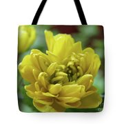 Yellow Shy Tote Bag