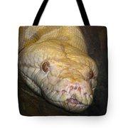 Yellow Snake Tote Bag