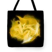 Yellow Solar Plexus Chakra Tote Bag