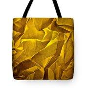 Yellow Sorrow Tote Bag