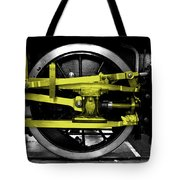 Yellow Steel Tote Bag
