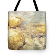 Yellow Stone Of Livadh Tote Bag
