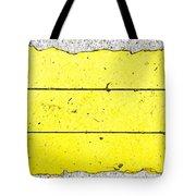 Yellow Stone Tote Bag