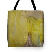 Yellow Strands Tote Bag