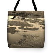 Yellow Streams In The Lot Tote Bag