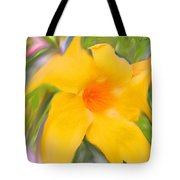 Yellow Stretch Tote Bag