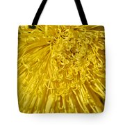 Yellow Strings Tote Bag