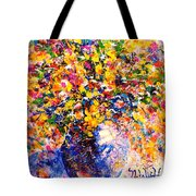 Yellow Sunshine Tote Bag