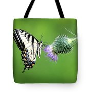 Yellow Swallow Tail 2 Tote Bag