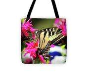 Yellow Swallowtail     Tote Bag