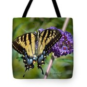 Yellow Swallowtail Butterfly Two Tote Bag