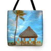 Yellow Tiki Tote Bag