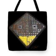 Yellow Tip Tote Bag