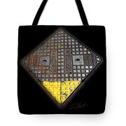 Yellow Tip Tote Bag