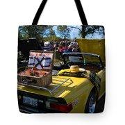 Yellow Tr6 Tote Bag