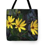 Yellow Trined Tote Bag