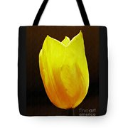 Yellow Tulip 3 Tote Bag