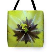 Yellow Tulip Macro Spring Floral Garden Baslee Troutman Tote Bag