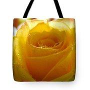 Yellow Valentine Roses - 4 Tote Bag