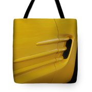 Yellow Vette Tote Bag