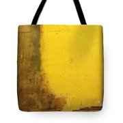 Yellow Wall Tote Bag