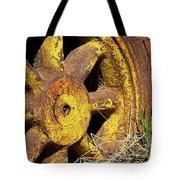 Yellow Wheel Tote Bag