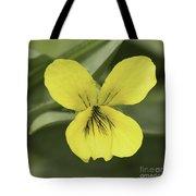 Yellow Wild Violet Tote Bag