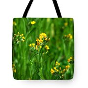 Yellow Wildflower Photograph Tote Bag