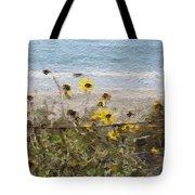 Yellow Wildflowers- Art By Linda Woods Tote Bag