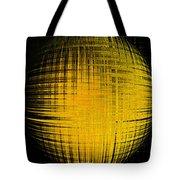 Yellow Word  Tote Bag
