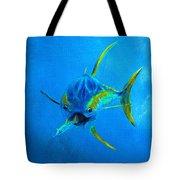 Yellowfin Tuna Three Tote Bag