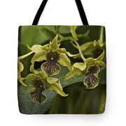 Yellowish Orchids Tote Bag