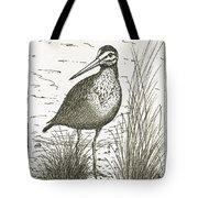Yellowlegs Shorebird Tote Bag