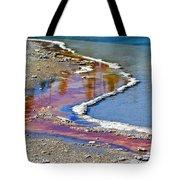 Yellowstone Abstract I Tote Bag