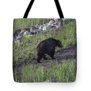 Yellowstone Black Bear Tote Bag