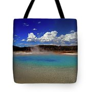 Yellowstone Blues Tote Bag